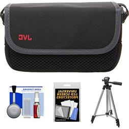 JVC CBV2013 Everio Video Camera Camcorder Case with Tripod +