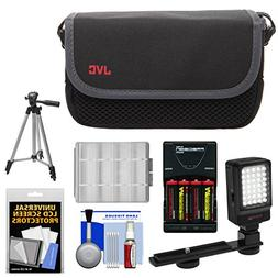 JVC CBV2013 Everio Video Camera Camcorder Case with LED Vide