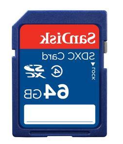 SanDisk 64GB Class 4 SDXC Memory Card