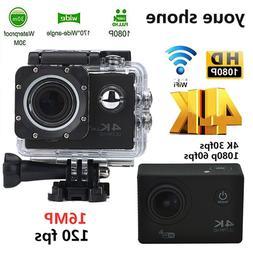Clearance Portable Action Camera Sport Camera 4K Full HD Wat