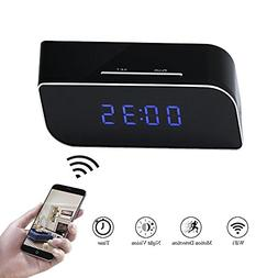 Clock Camera WIFI Indoor Mini Video Recorder TANGMI Motion D