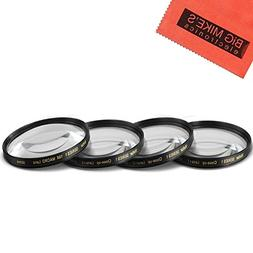 58mm Close-Up Filter Set  Magnificatoin Kit for Select Canon