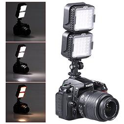 Neewer CN-LUX360 5400K Dimmable LED Video Light Lamp for Can