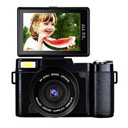 Digital Camera Comcorder Video Camcorders Vlogging Camera Fu
