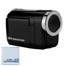 "720P HD Compact Camcorder with 1.44"" Screen, Easy Editing So"