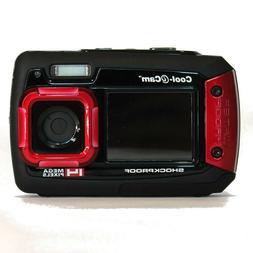 iON Cool-iCam Tough Waterproof Digital Selfie Camera w/ Dual