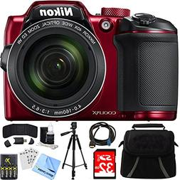 Nikon COOLPIX B500 16MP 40x Optical Zoom Digital Camera 32GB