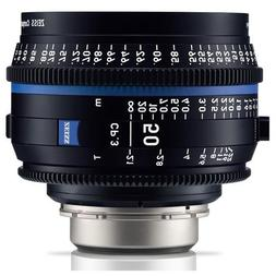 Zeiss CP.3 50mm T2.1 Compact Prime Cine Lens  with Canon EF