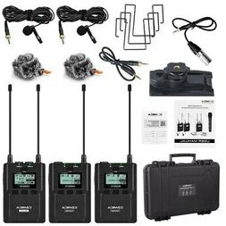 COMICA CVM-WM200 96-Channel UHF Wireless Microphone for Came