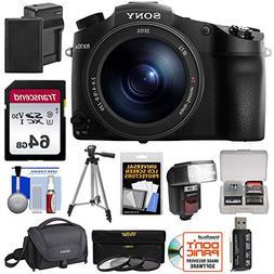 Sony Cyber-Shot DSC-RX10 III 4K Wi-Fi Digital Camera with 64