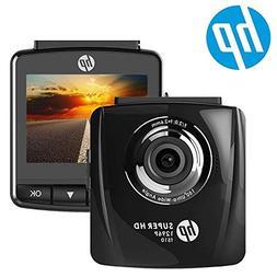 HP Dash Cam for Cars 1296P Super HD Night Vision Dashboard C