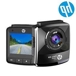 HP Dash Cam for Cars 1080P FHD DVR Vehicle Dashboard Camera