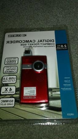 Curtis Digital Camcorder Compact Pocket Size VR223