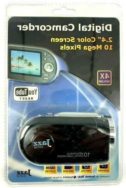 "Jazz Digital Camcorder DVZ100 YouTube Ready 2.4"" Screen 10 M"