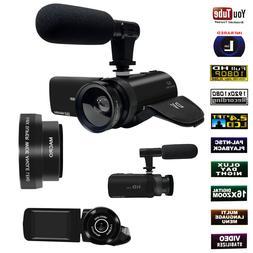 Digital Camera 1080P Video 16X ZOOM 24MP DV Camcorder Record