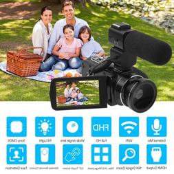 ORDRO Digital Camera HDV-Z20 WiFi Professional Video Camcord