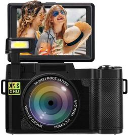 Digital Camera Vlogging Camera 2.7K 24MP Full HD Camera for