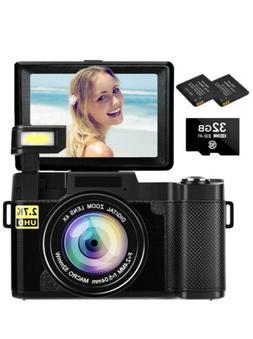 Digital Camera Vlogging Camera 2.7K 30MP Ultra HD Camera