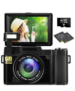 digital camera vlogging camera 30mp full hd