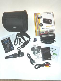 Vivitar Digital Miniature Camcorder 568NHD, Bag, Mini Tripod