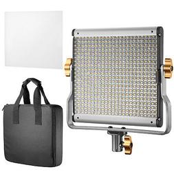 Neewer Dimmable Bi-color LED  Video Light Panel with U Brack