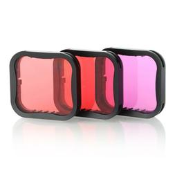 Diving Filter Underwater Red Magenta Snorkel Color Filters f