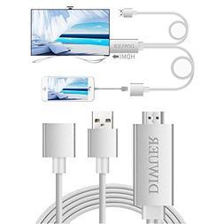 DIWUER Lightning to HDMI Cable Adapter Lightning Digital AV