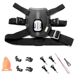Kitway Dog Harness Chest Mount for Go Pro HERO 5 Black GoPro