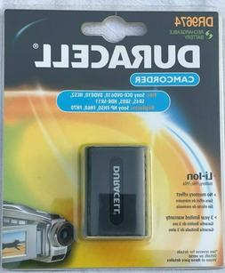 Duracell  Li-Ion Camcorder Battery Sony DCR-DVD610 NP-FH50 F
