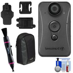 Transcend DrivePro Digital Camcorder - Full HD - Black - 16: