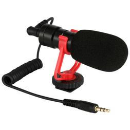 3.5mm Video Mic Microphone & Windshield Foam Cover for Nikon