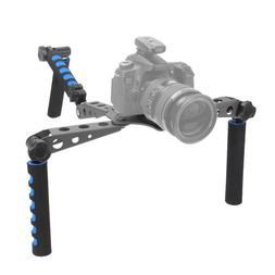 DSLR Filmmaking System Shoulder Mount Stabilization <font><b