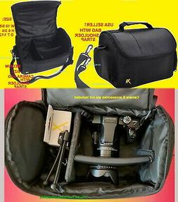 DSLR Large Padded Case/Bag for Cameras Camcorders for Sony N
