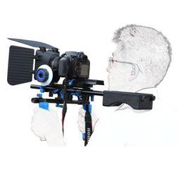 Morros DSLR Rig Set Movie Kit Shoulder Mount Rig with Follow