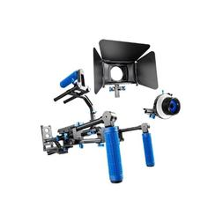 SunSmart Pro DSLR camera video Rig Shoulder Mount Kit includ