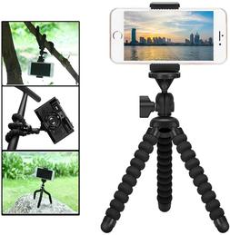 Fantaseal DSLR Camera + Action Cam Mini Octopus Tripod 2-in-