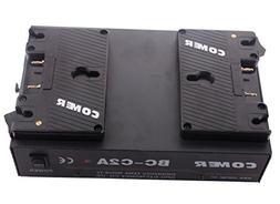 Dual Channel Anton Bauer Gold Mount Battery Kit Charger with