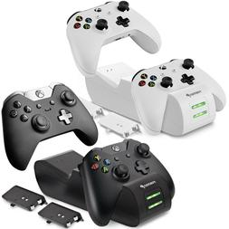 Dual Controller Quick Charge Dock Stand Station Battery Pack