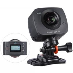 Dual-lens 360° Digital Video Sports Action VR 3D Camera HD