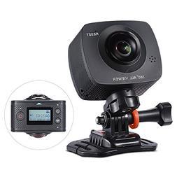 Andoer Dual-lens 360 Degree Panoramic Camera Digital Video S