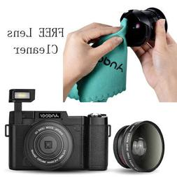 Andoer 1080P 1080P 24MP Digital Video DV Camcorder Camera An