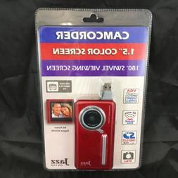Jazz DV152 Camcorder -Red- Camera NIP
