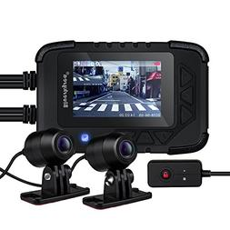 Blueskysea DV688 Motorcycle Dash Cam with GPS 1080p Dual Len