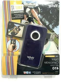 Vivitar DVR-410 Flash Media Digital Camcorder with Camera Pu
