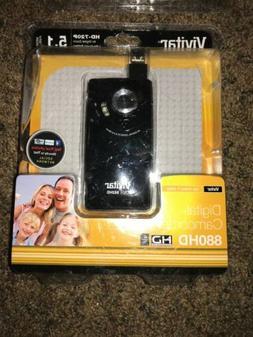 Vivitar DVR 882HD 5.1-megapixel Digital Camcorder HD 720P Fr