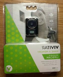 Vivitar DVR 906HD LifeCam Wearable Camcorder - DVR906HD-BLK