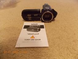 Vivitar DVR 910HD Camcorder w/ case and Mini Tripod