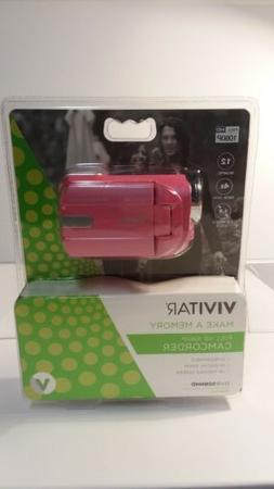 Vivitar DVR-508 NHD Digital Video Camera Camcorder Bubble Gu