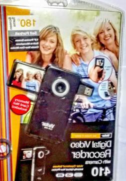 Vivitar DVR410 4MP Digital Video Camera Camcorder Plus 4GB K