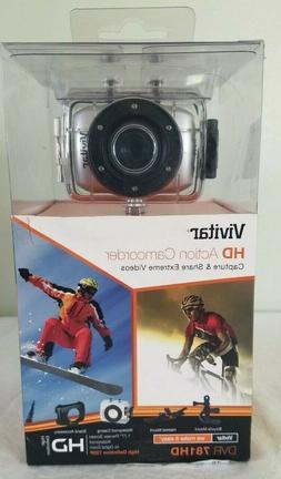 Vivitar DVR781HD-SIL Action Camcorder NEW IN BOX